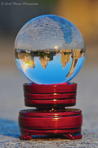 Clinton Square through a crystal ball without flipping.