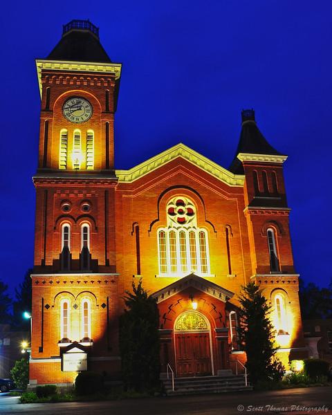 First Presbyterian Church in Liverpool, New York.