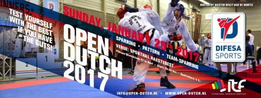 Open Dutch Taekwondo