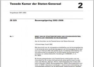 Bouwregelgeving 2002-2006