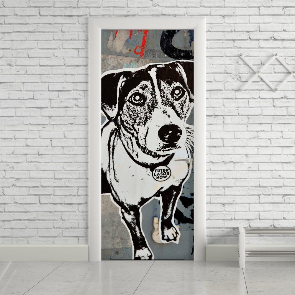 Adesivo de Porta Dog