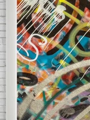 Adesivo de Porta Graffiti