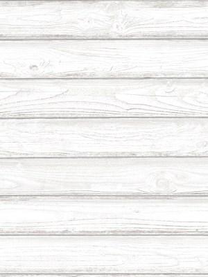 Papel de Parede Adesivo Madeira Branca