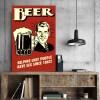 Placa Decorativa Vintage Beer