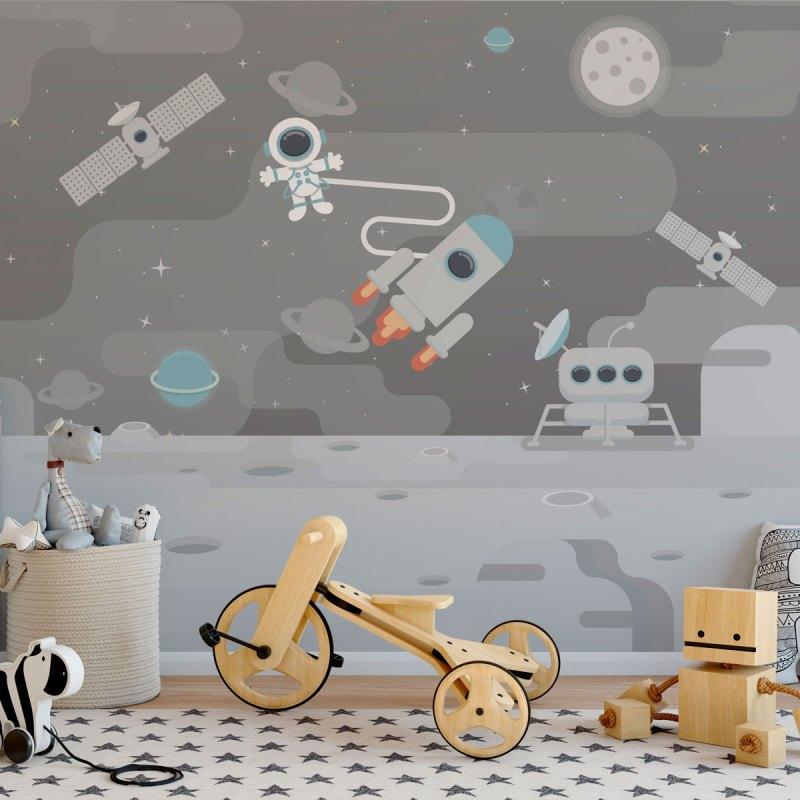 Painel Fotográfico Jornada no Espaço