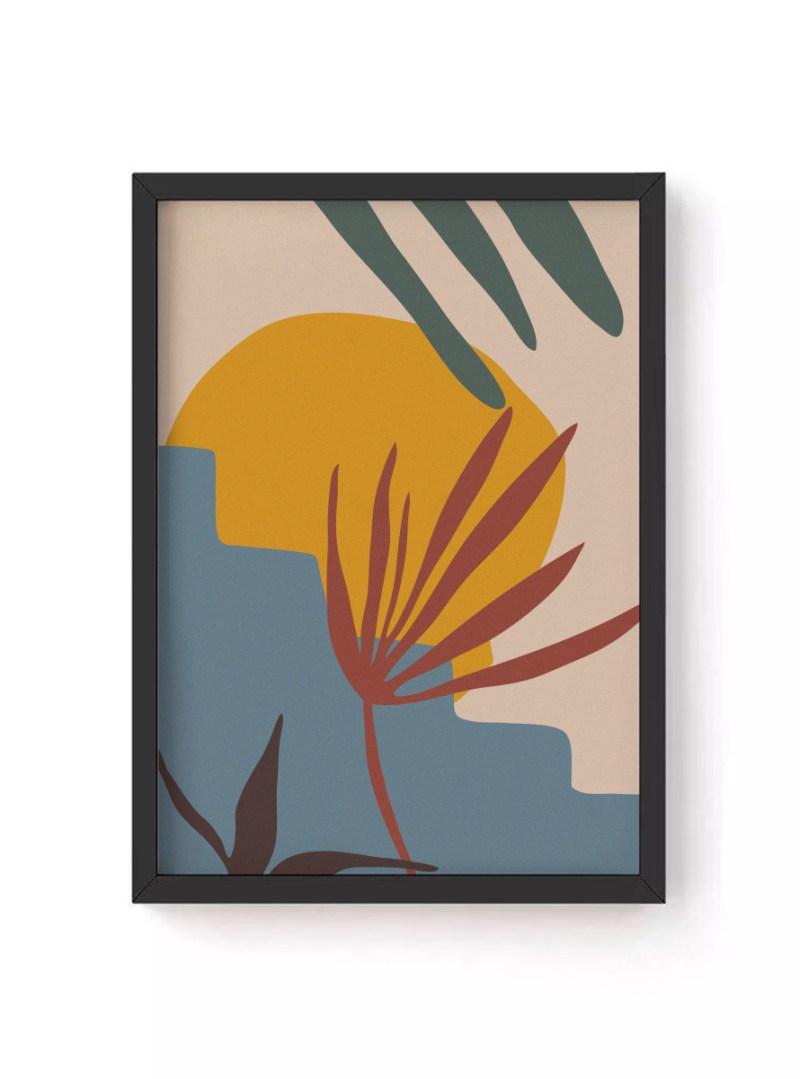 Quadro Folhas Tropical I