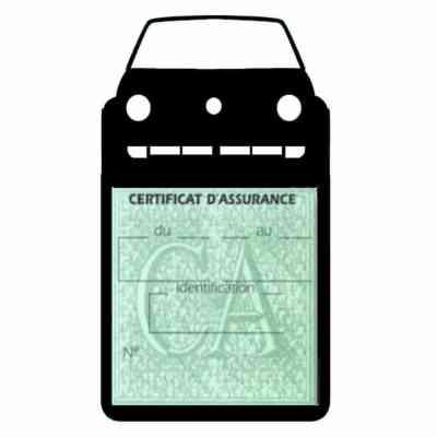 Golf II vignette assurance voiture Volkswagen gris