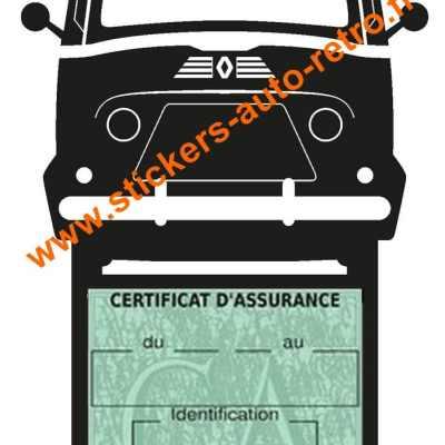 Etui assurance voiture Renault Estafette