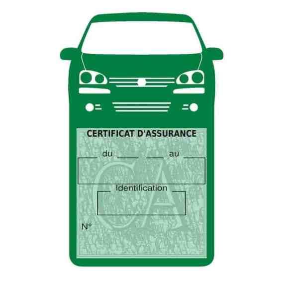 GOLF 6 Vignette assurance voiture Volkswagen vert foncé