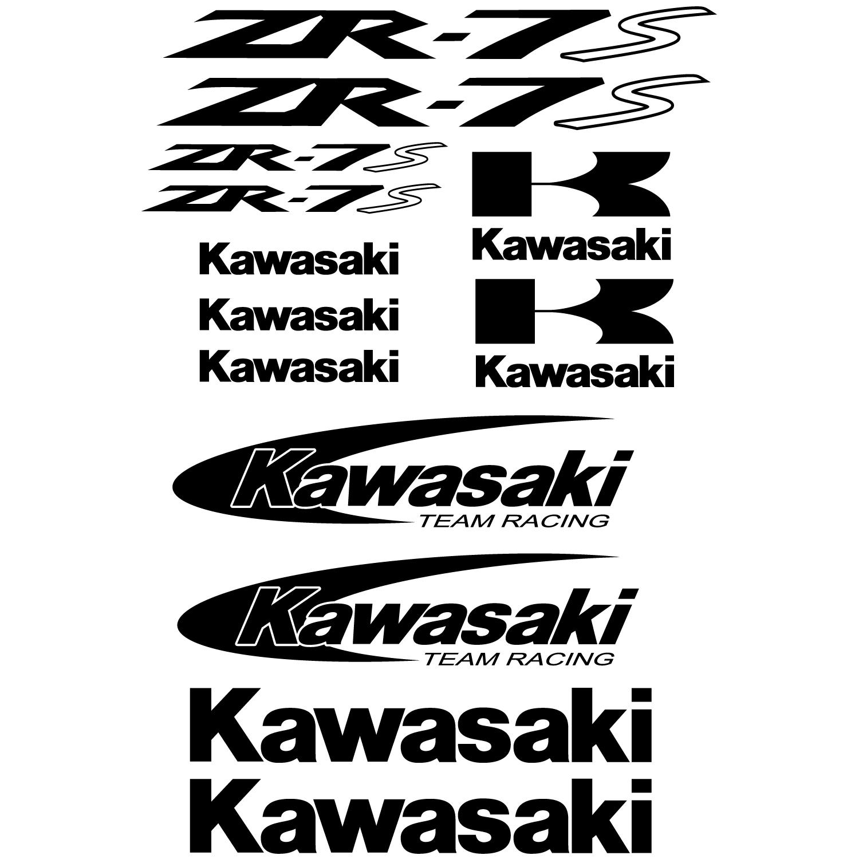 Stickers Kawasaki Zr 7s Pas Cher