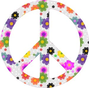 Peace Symbol Bumper Sticker