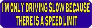 speed limit bumper