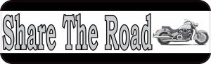 share the road bumper