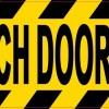 approach door slowly