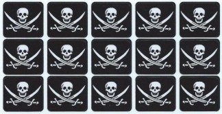 Jolly Roger Pirate Flag Bumper Sticker