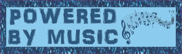 Blue Powered By Music Magnet
