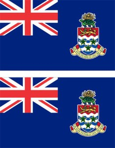 Cayman Islands Flag Stickers