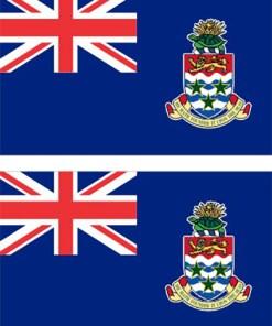 Cayman Islands Flag Stickers