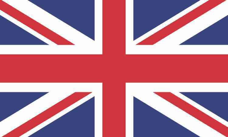 Uk british flag sticker