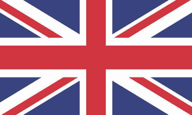 Uk british flag sticker