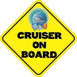 Cruiser On Board Magnet