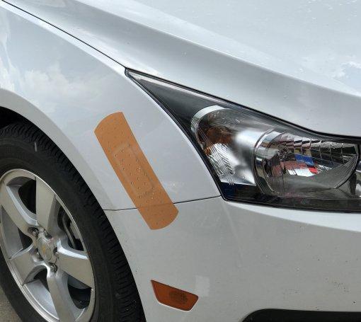 Bandage Cover Bumper Sticker
