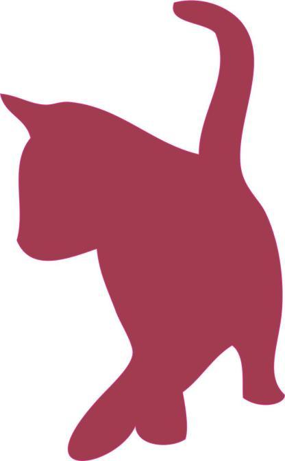 Red Cat Car Decals