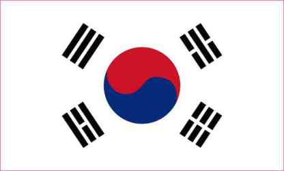 south korea bumper sticker