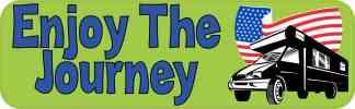 Enjoy the Journey Bumper Sticker