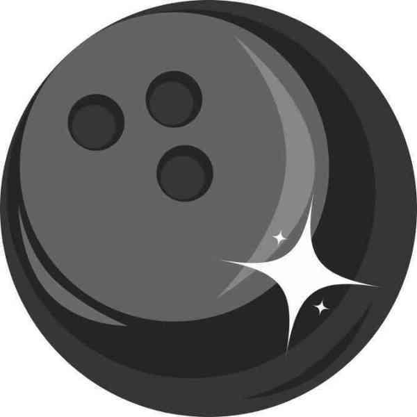 Bowling Ball bumper sticker