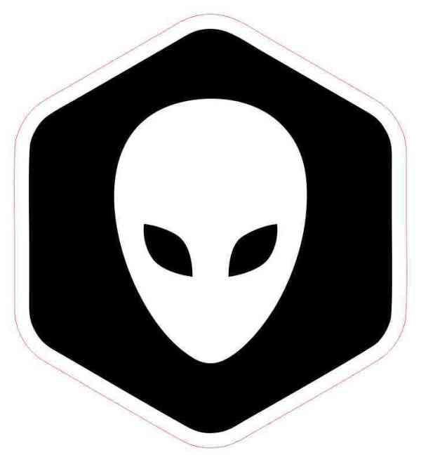 alien bumper sticker