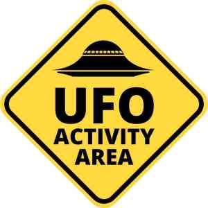 ufo activity area decal
