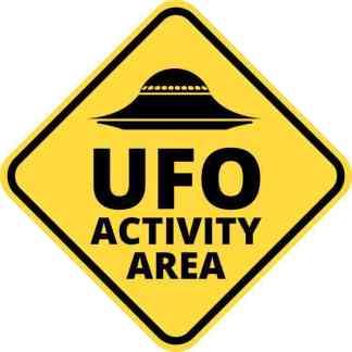 ufo activity area decal