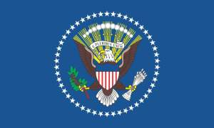 Presidents Flag Sticker
