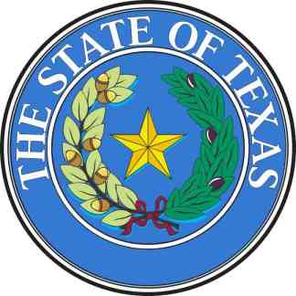 Seal of Texas sticker