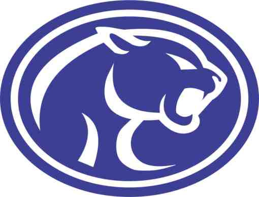 Cougar Mascot sticker