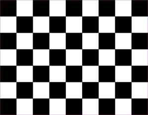 Black Checkered Vinyl Sheet