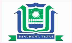 Beaumont texas Flag