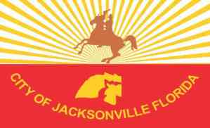 jacksonville Florida Flag