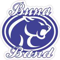 Buna Band Sticker