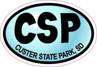 custer state park sticker