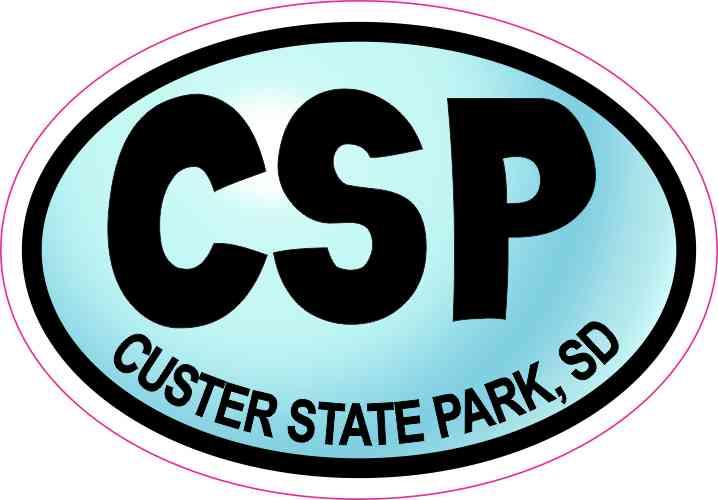 custer state park sticker