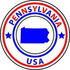 Pennsylvania sticker