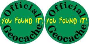 geocache sticker