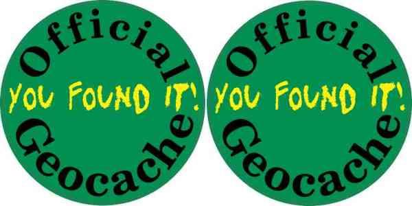 geocache sticker