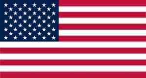 Inside Adhesive United States Of America Flag Sticker