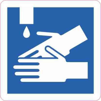 Hand Washing Magnet