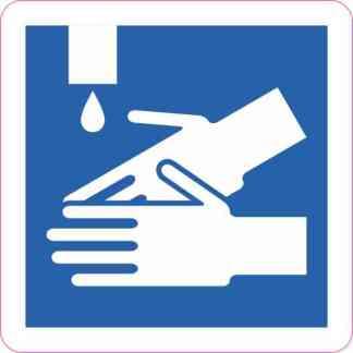 Hand Washing Sticker