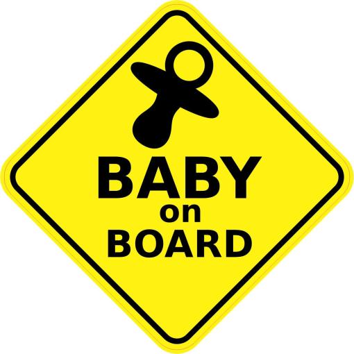 Inside Baby On Board Sticker