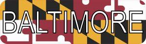 Baltimore Bumper Sticker